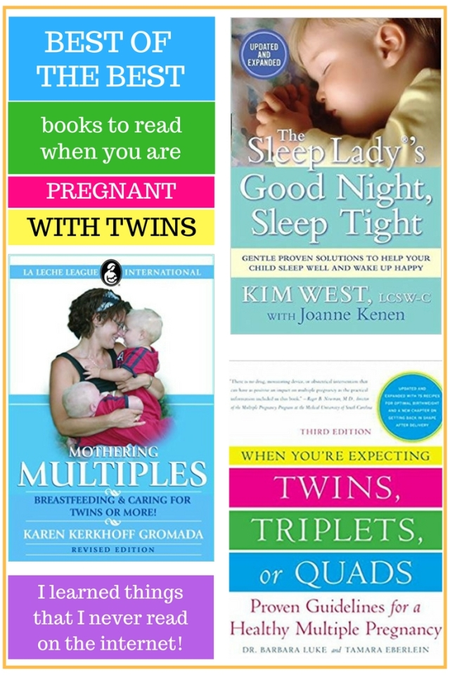 Best of the best books to read when pregnant with twins