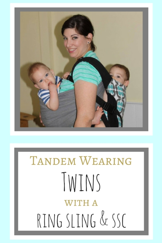 tandem wearing twins sec ring sling