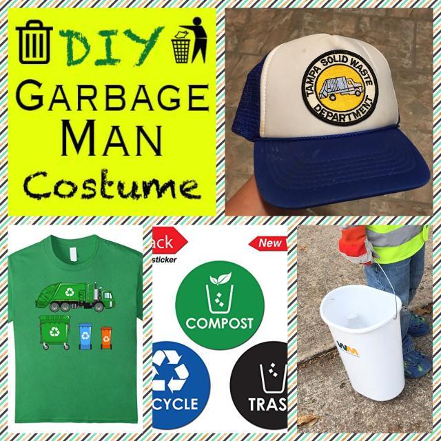 DIY Garbage Man Costume