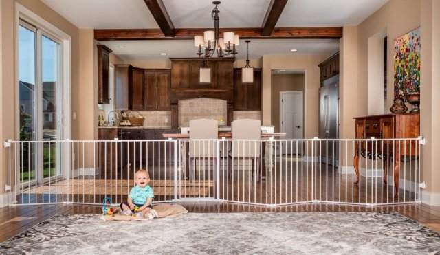 best of the best for twins extra long baby gate baby jail