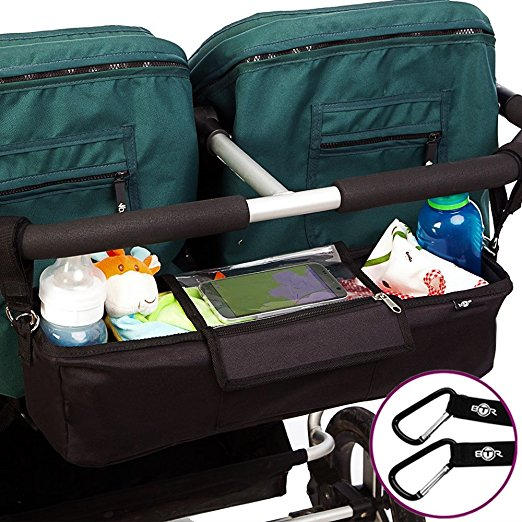best double stroller organizer best of the best for twins