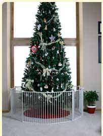 i love this regalo extra wide gate makes it easy to create a playroom that is totally safe for babies plus its awesome for keeping your christmas tree - Baby Gate For Christmas Tree